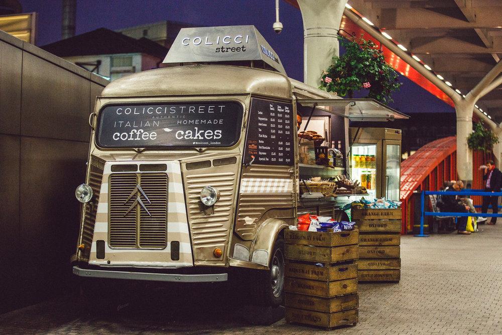 Colicci Van, Paddington Station, London, UK