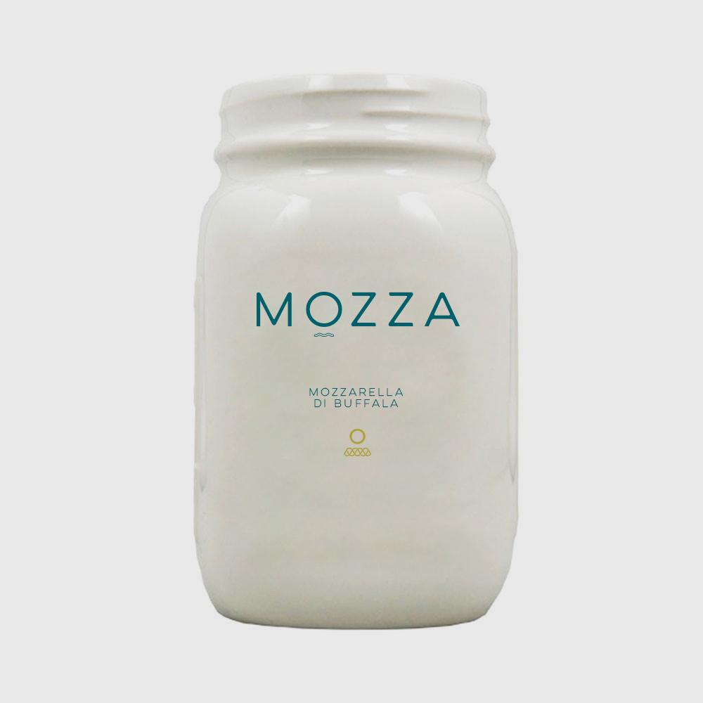 Mozza, Brand Identity