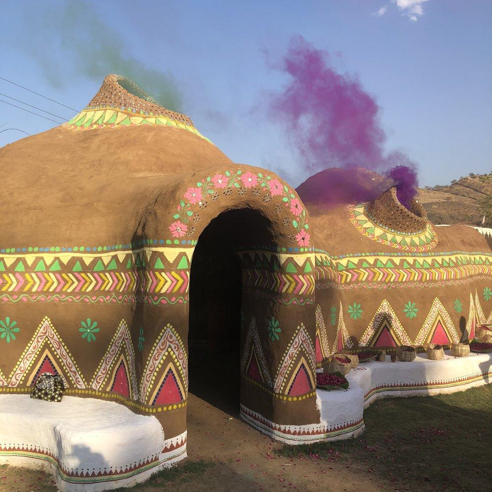 Holi Saloni Secret Garden, Rajasthan, India