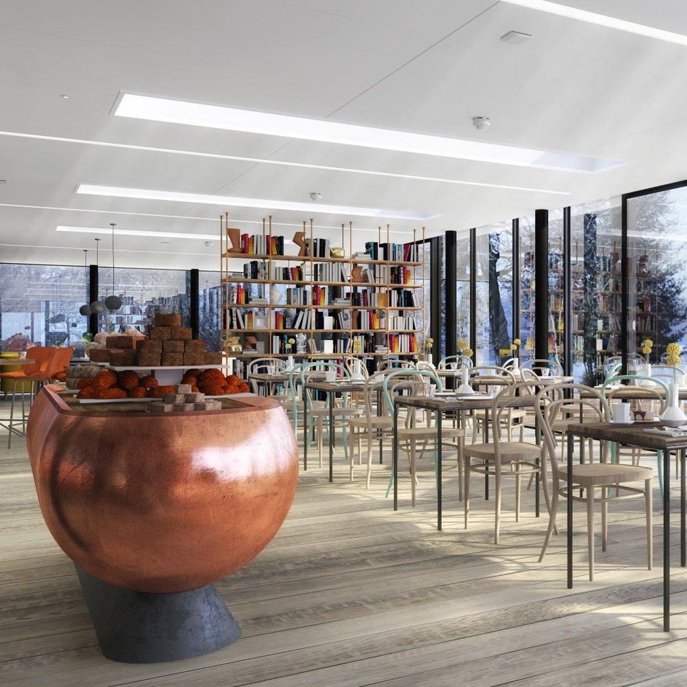Colicci Lake Cafe proposal