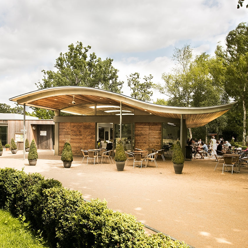The Pheasantry Cafe, Bushy Park, London, UK