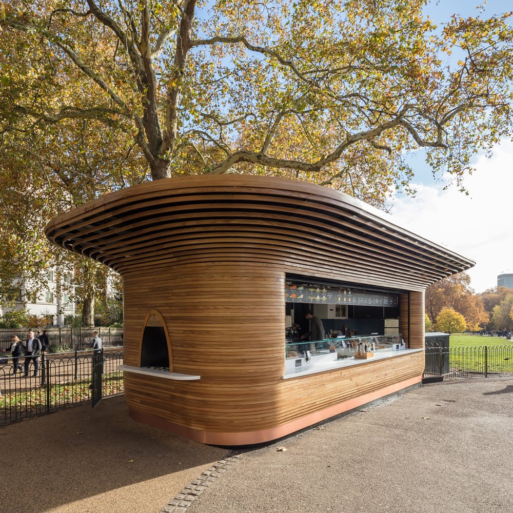 The Royal Parks kiosks, London, UK