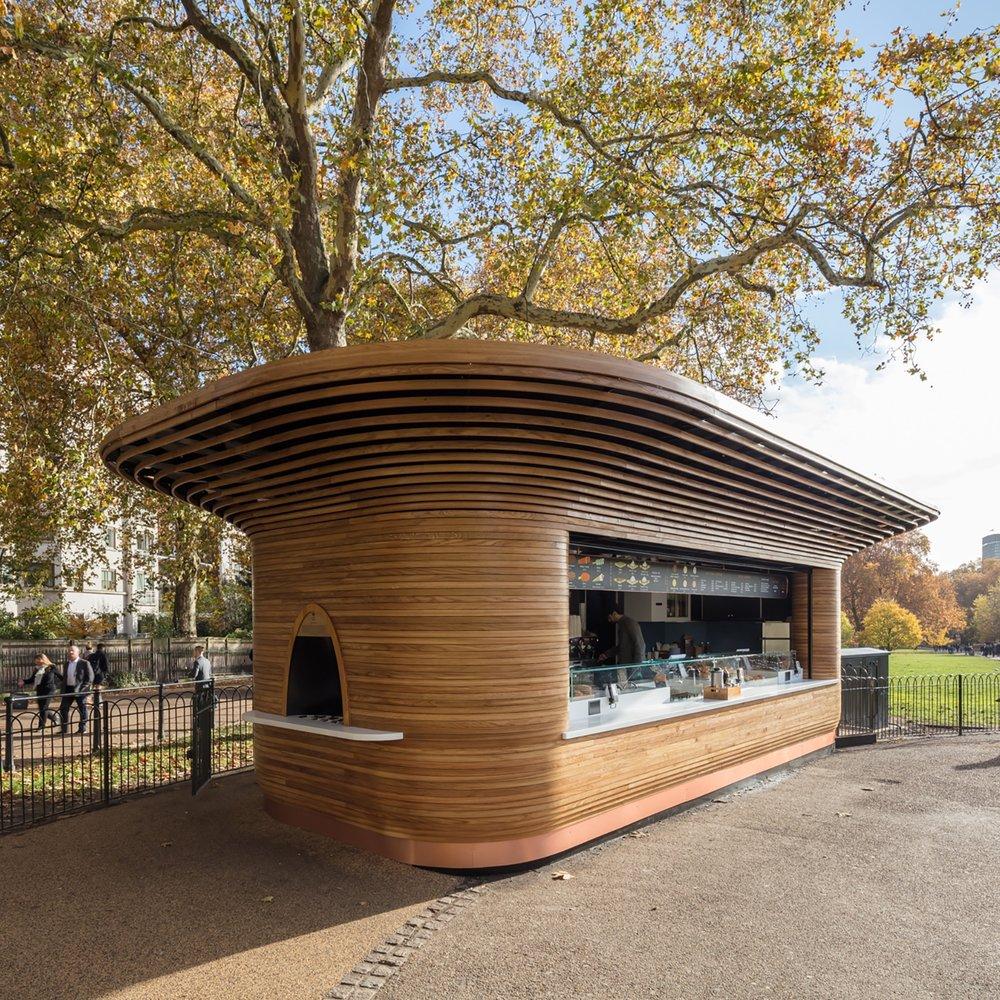 The Royal Parks kiosks, London, UK