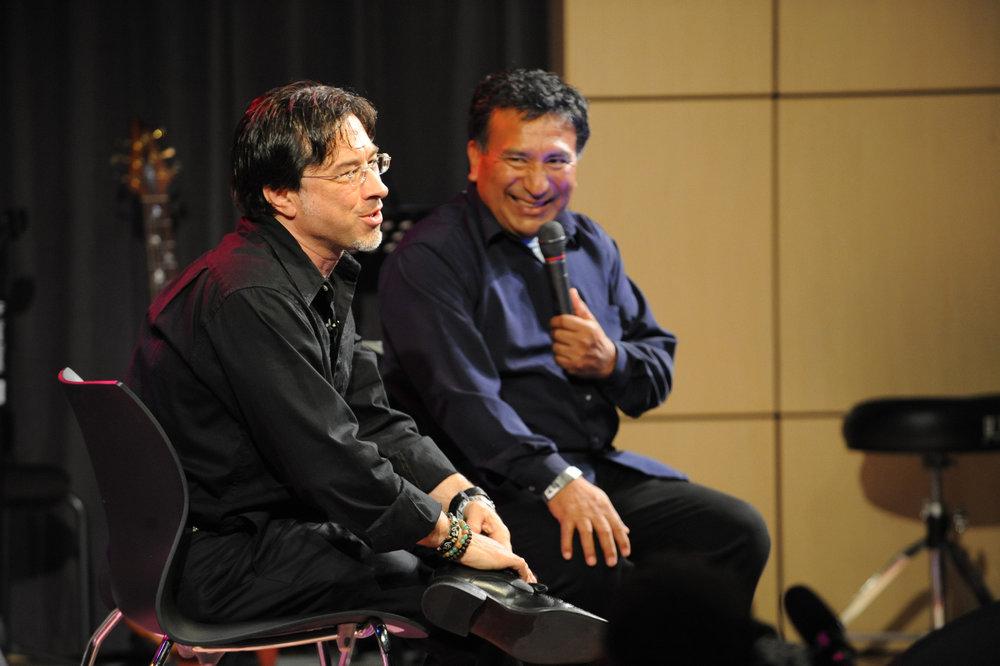 w/Alex Acuna-Grammy Museum