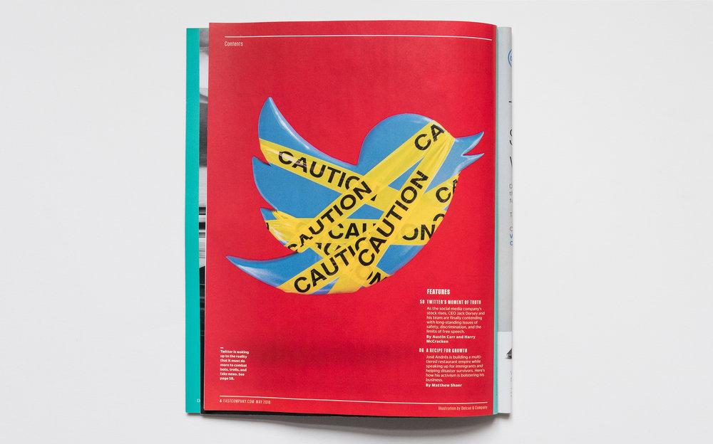 #Hijacked. Fast Company Magazine.
