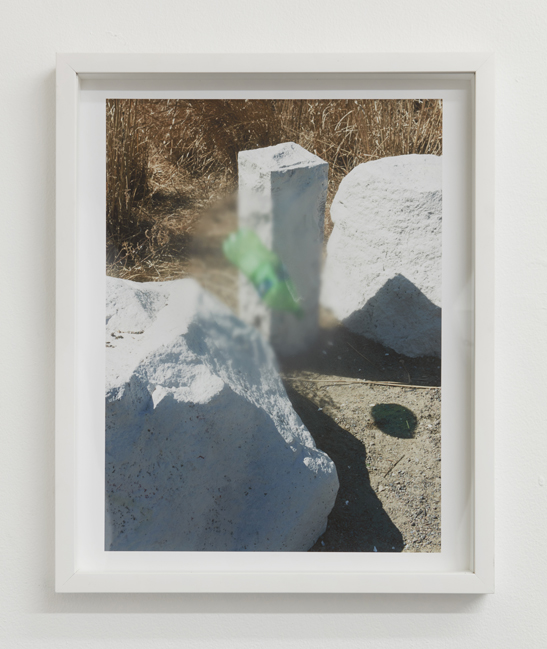 Ryan Oskin,  Floater,  2015. Archival pigment print with fogged frame. 20 x 16 inches.