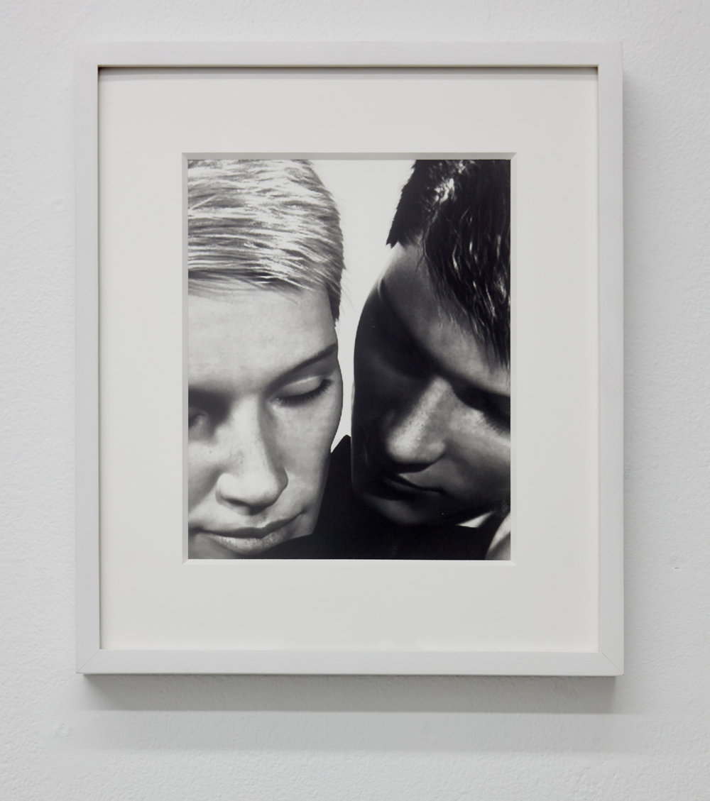 Couple,  2018. Gelatin silver print. 10 x 8 inches.