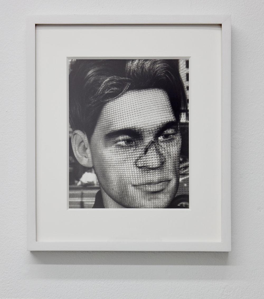 Narc Portrait,  2018. Gelatin silver print. 10 x 8 inches.