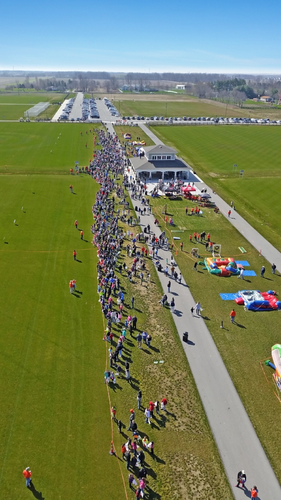 The 2016 Westfield Easter Egg Drop at Grand Park