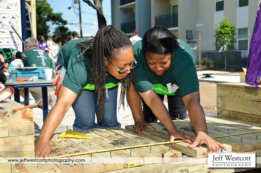 Editorial photography - Oakland Terrace Playground Project
