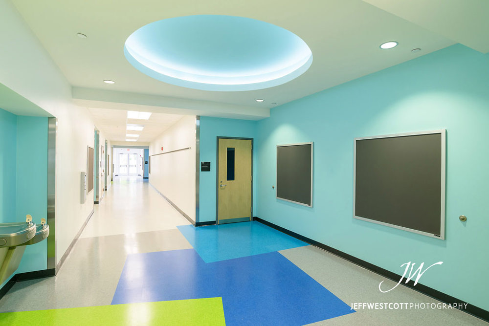architectural interior photo Jacksonville Arlington Community Academy