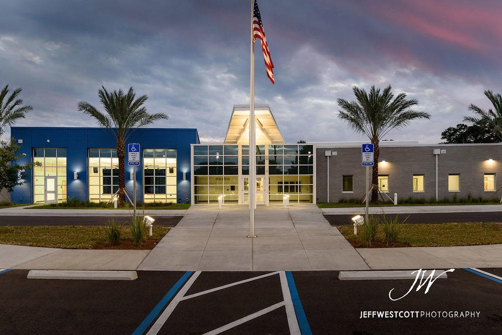 architectural photo, exterior, Jacksonville Arlington Community Academy