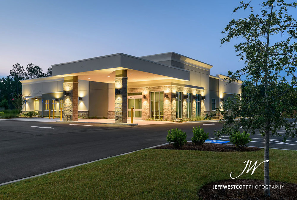 commercial architecture and real estate photos Jacksonville and Kingsland, Georgia