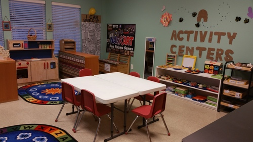 Hands-on activity centers where preschool students can learn and grow.