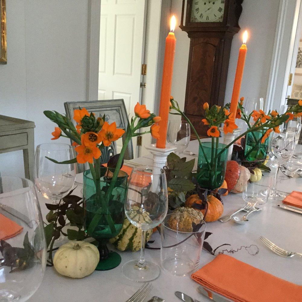 thanksgiving theme, dedham vale