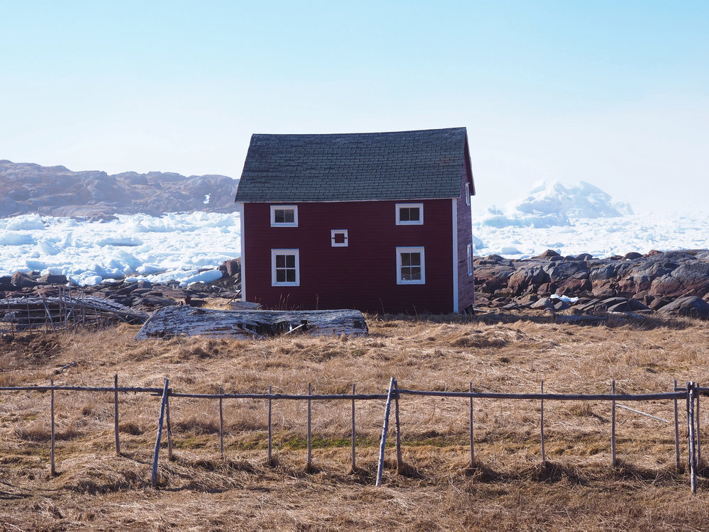 Tilting saltbox and iceberg May 2017.JPG
