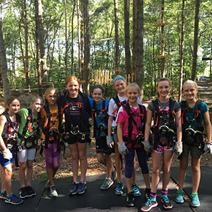 Birthday Party at TreeTop Adventures in Canton, MA