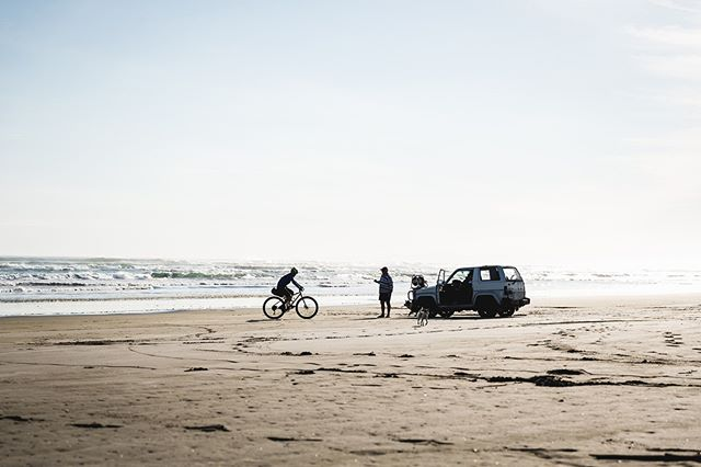 """From the Archive: Ride Motu """"Back on our laden rigs, we crossed tarmac and gravel roads that connected Whakatane and Opotiki. The gravel roads swept in and out of streams, bush and forestry and were mostly hard pack"""". Live on #nzcyclingjournal. #RideMotu 
