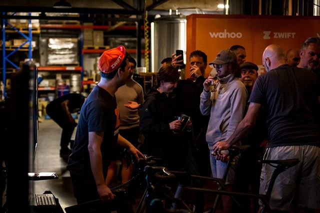 Auckland! Tonight we'll be at Brothers Beer City Works Depot with our friends at @gozwiftausnz from 6:30pm. Come through and and battle it out with your mates on Zwift then enjoy a cold beer and take in the good tunes. #Zwift | #NZCJ