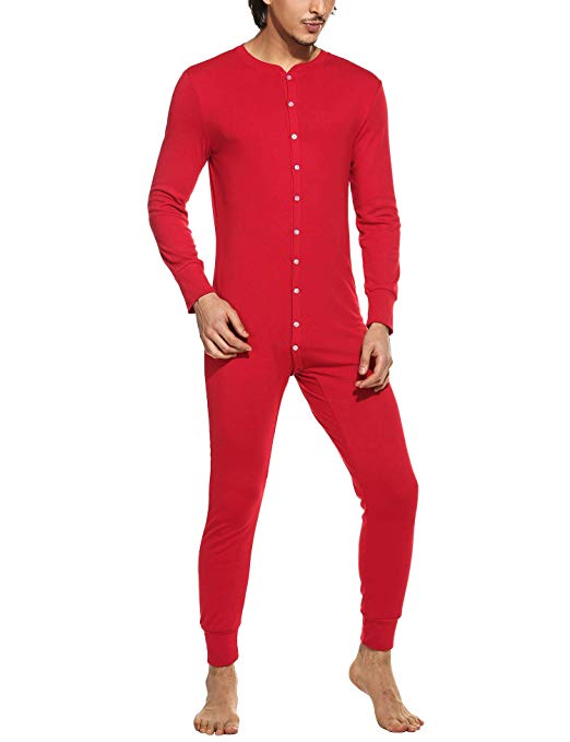 3. Man Onesie - Maybe I just want my husband to get this one. It's selfish. Selfish and funny.