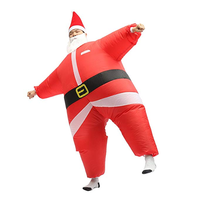 9. Santa Suit - Because it's Christmas time and it's the right thing to do. Hey, Santa.