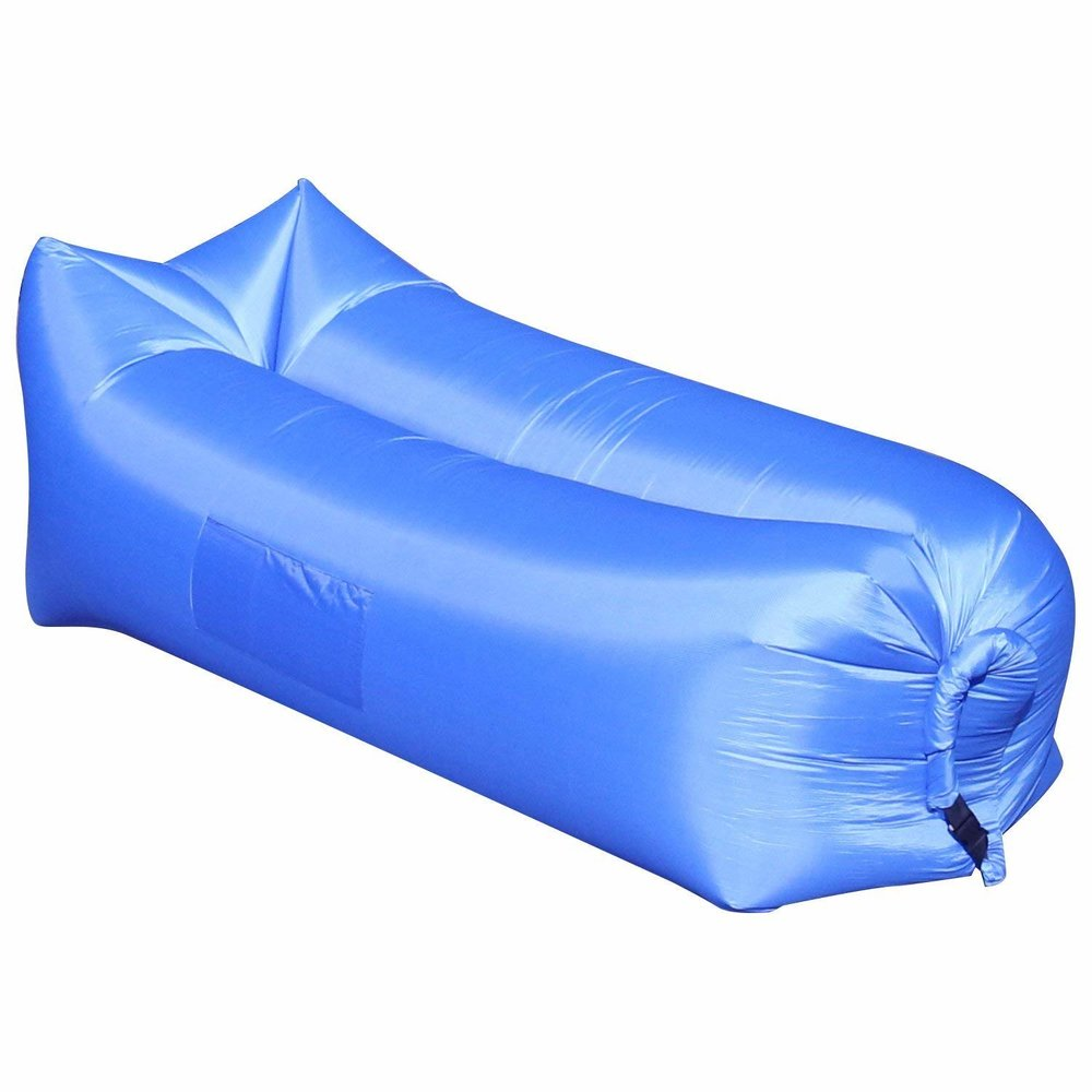 13. Inflatable Lounger - Fun for kids and adults, just hope Grandpa gets this lounger so you can see watch the fun that comes next.