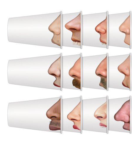 "15. Pick your nose - Pretty good. Everyone gets a kick out of a nose swap with these ""pick your nose"" cups."