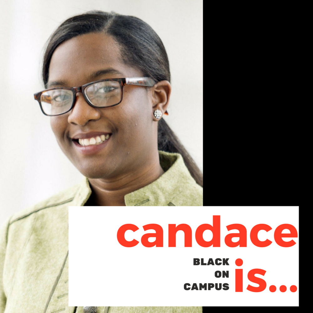"Candace King   Candace King is a graduate student at the University of Massachusetts, Amherst. Her work examines portrayals of Black women in television. Prior to her enrollment in graduate school, she worked for NBC News and MSNBC in New York during the 2016 political cycle. During that time, she also pitched and wrote stories for NBCBLK, a digital vertical of NBCNews.com devoted to Black news and culture. As a BLK contributor, she documented Black activists' push for a #BlackLivesMatter agenda in the 2016 political campaigns and reflected on the one year anniversary of Michael Brown's death. Most recently, Candace received a News and Documentary Emmy award for her contributions at ""The Rachel Maddow Show"" to expose the water crisis affecting a predominantly Black community in Flint, Michigan. A Martin Luther King Jr. Scholar, she studied Journalism and Politics at Ithaca College in upstate New York. During her senior year at IC, she co-founded and co-executive produced a sociopolitical news show titled, ""The RoundTable."" Candace is humbled to be a part of the 2018 class of Black on Campus and especially excited to grow under the guidance of two dynamic and incredible Black women like Dr. Melissa Harris Perry and Dr. Sherri Williams."