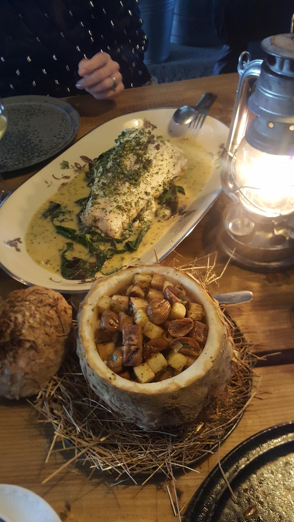 Communal Style Dining @NOMA Under the Bridge