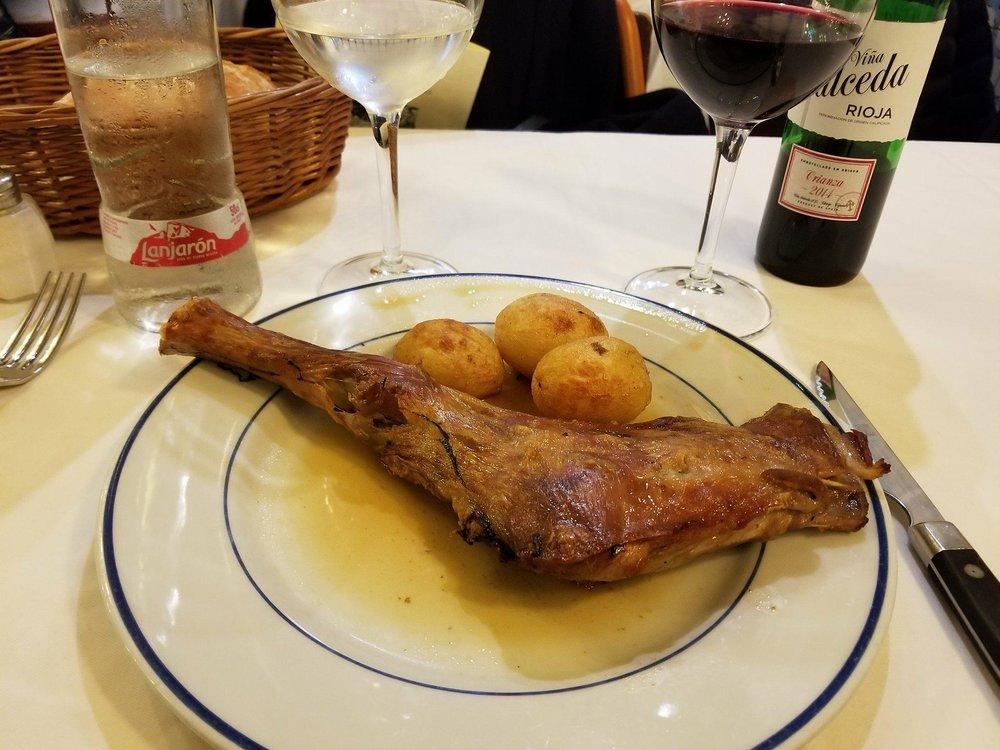 Cordero Asado @Restaurant Botin