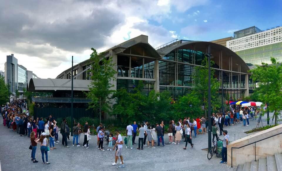 Opening Weekend Line @ La Felicità. Photo Credit: S.J.