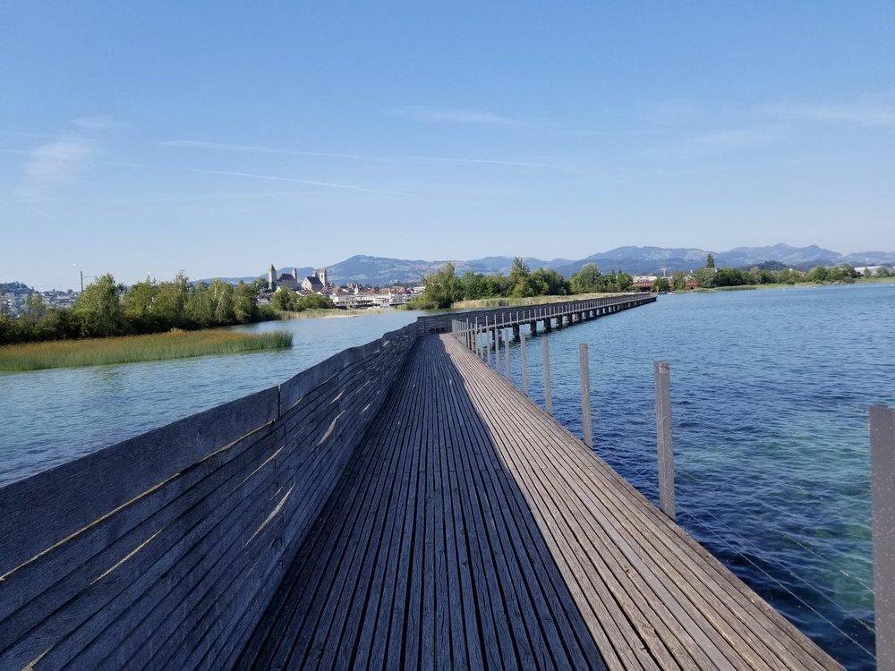 Walking on Wooden Planks