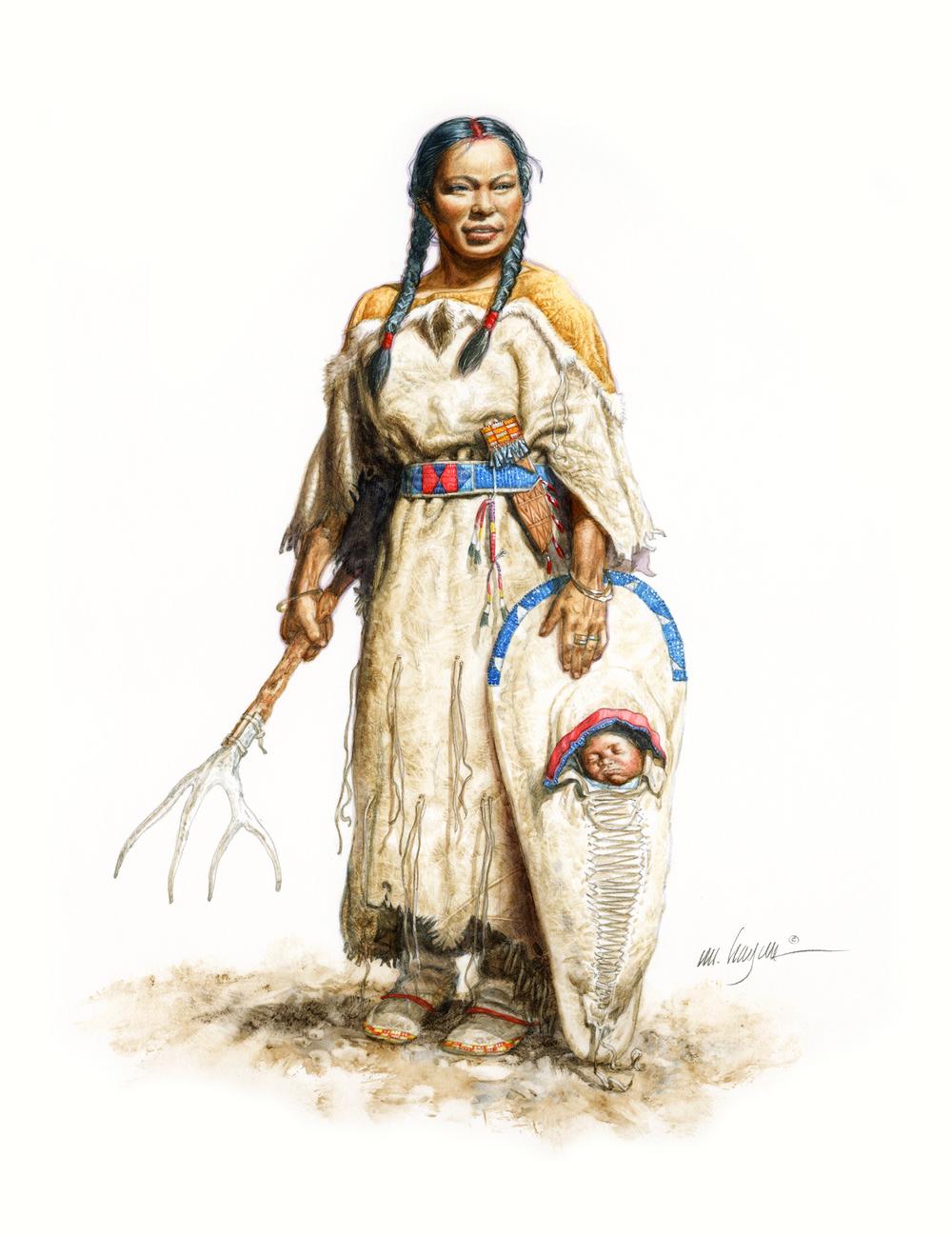 Sacagawea, 1805