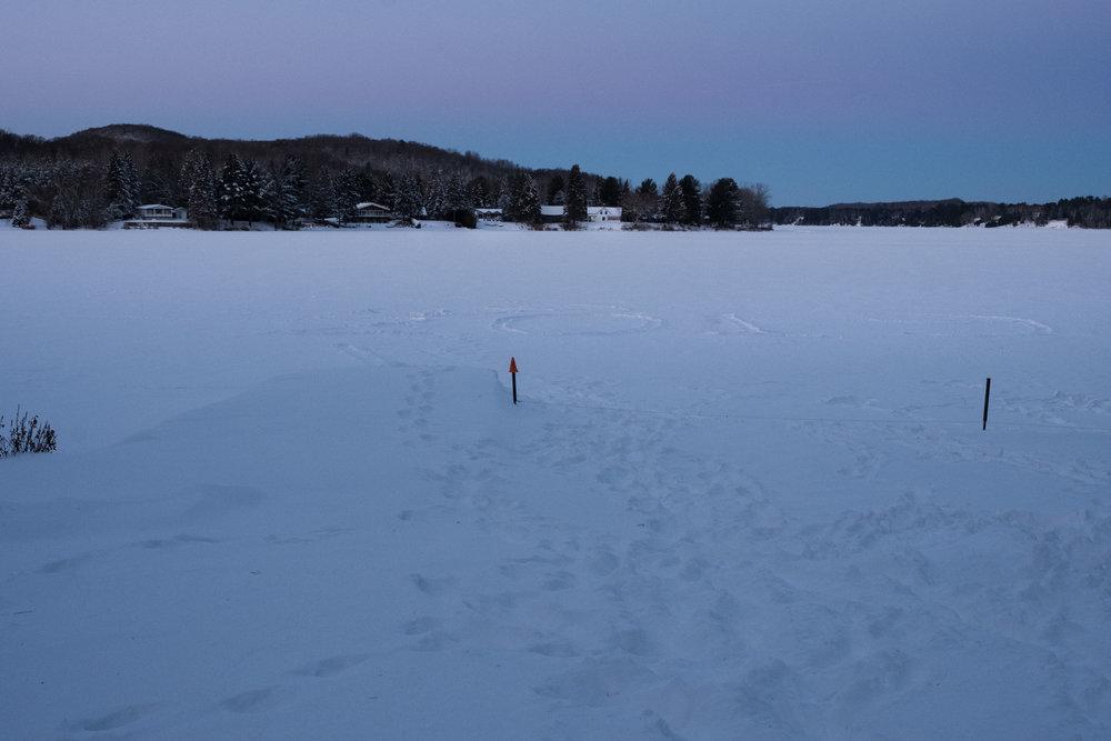 Happy 2019 (photo taken at Lac-Simon)