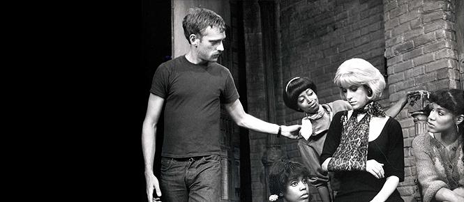 Howard and Ellen Greene on set at the original off-Broadway production.