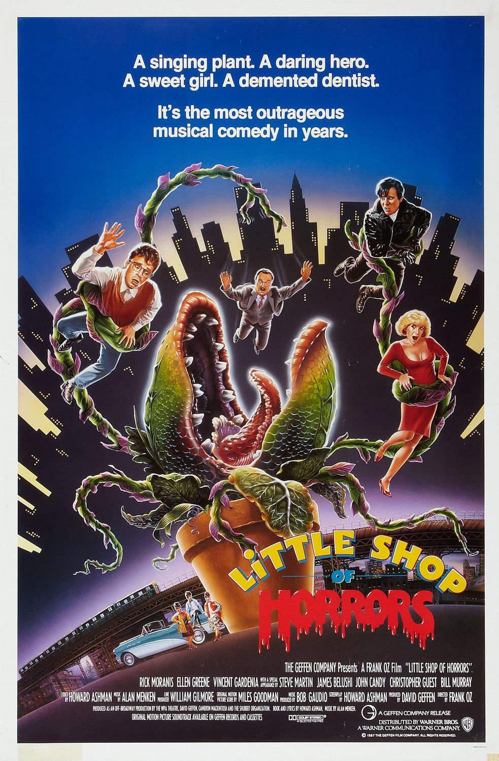 The 1985 movie poster