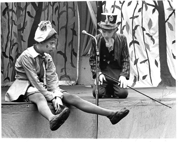 Howard in a Children's Theater Association production of Pinocchio