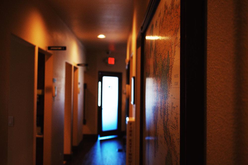 hallway -