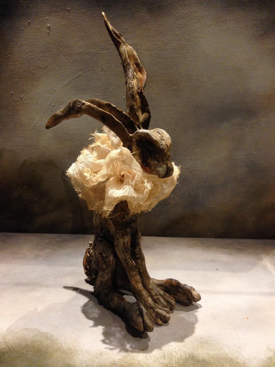 'Ruffle Hare II' - SOLD