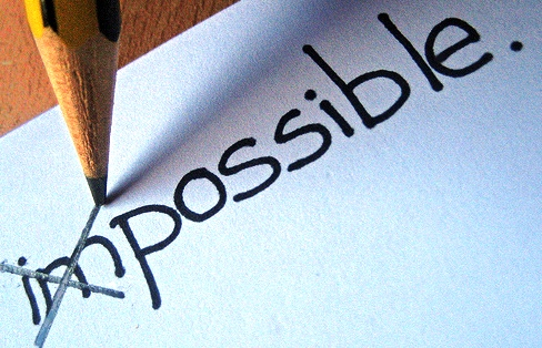 """""""Nothing is impossible, the word itself says  """"I'm Possible'!""""  - Audrey Hepburn"""