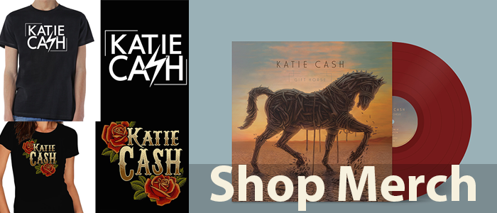 Get the latest swag on Katie's Bandcamp:  https://katiecash.bandcamp.com/merch