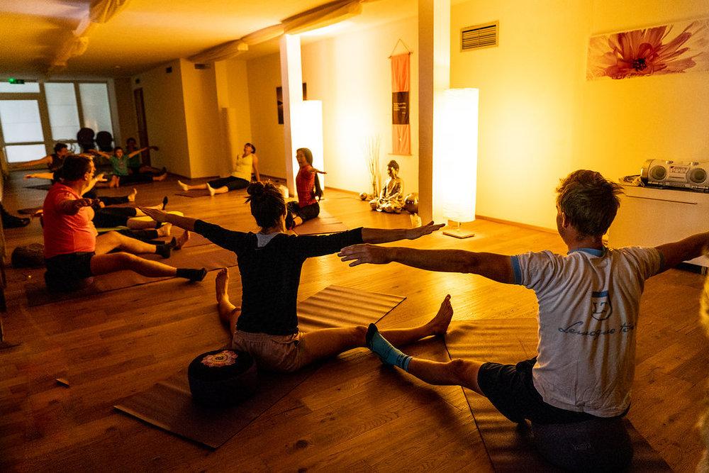 De gratis yoga lessen zijn een extra troef van dit hotel