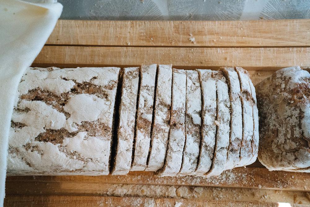 Brood is één van de specialiteiten van de regio