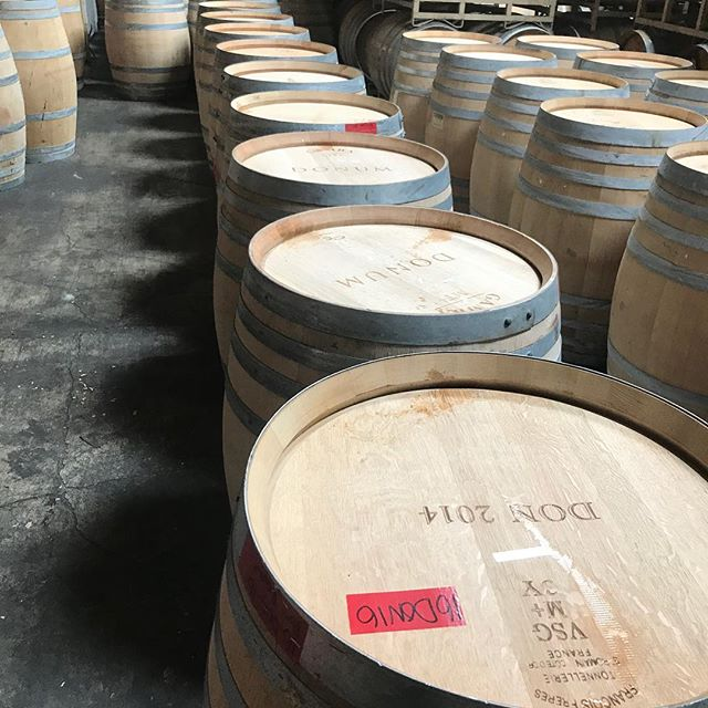 2014 Donum Pinot noir barrels! 2 time fills and 2013 3 time fills. High end Pinot producer. Just in time for harvest. Pristine condition! #pinotnoir #wine #winebarrels #harvest #winery #barrels