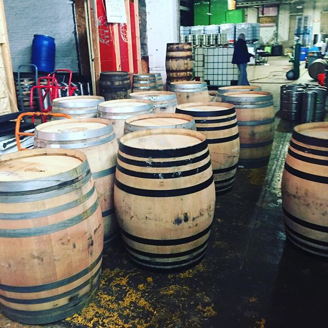 Barrels successfully delivered! These wine barrels are going to be used to age hard cider. Let us know if we can help you with your barrel program. Cheers! #cider #hardcider #barrel #barrelagedbeer #barrelaged #winebarrels #bourbon #bourbonbarrel #bourbonbarrelaged
