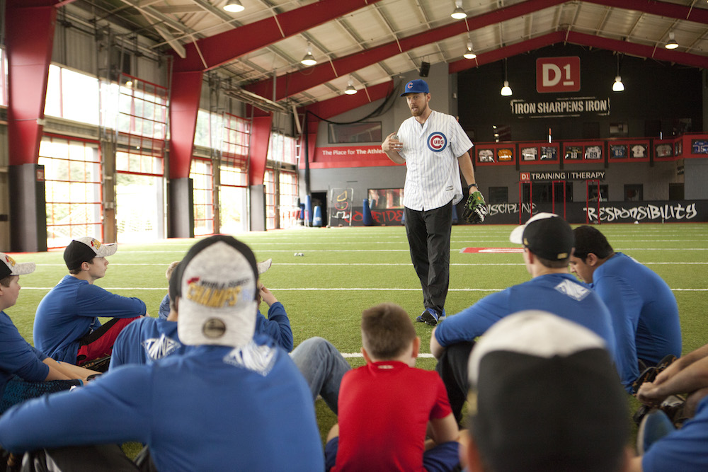 Ben Zobrist - Baseball Camp 2016