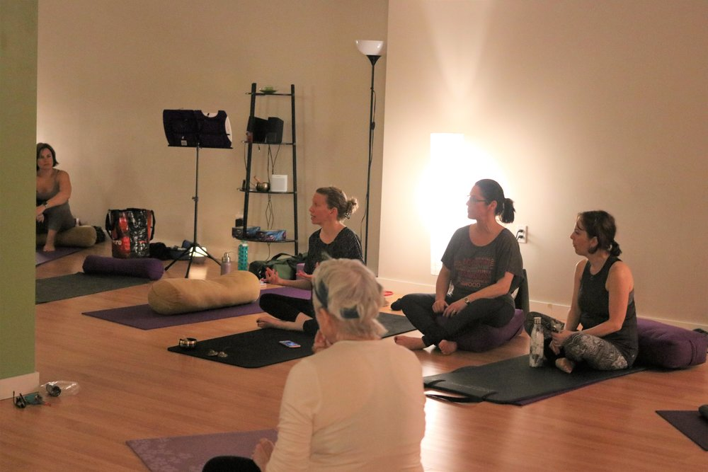 Self Care Workshop: - Our Founder led the Mindfulness Moments with exercises like mindful eating that involved chocolates and mindful moments as a group