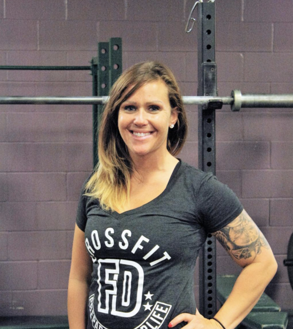 Crystal Kliegl   Coach/Gym Manager  Crystal served for 4.5 years in the Marine Corps and found CrossFit as a place where she could connect with a community she missed after her service came to an end. As a coach, she loves making a difference in people's lives and specializes in Olympic weightlifting. As an athlete, she enjoys anything that challenges her mentally and physically.  CERTIFICATIONS:  CrossFit Level 1  USAW Sports Performance