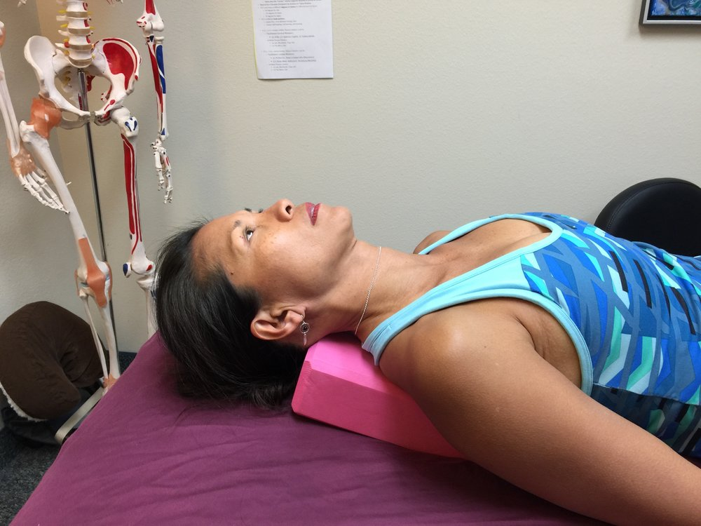 Myofascial Stretching for the Neck