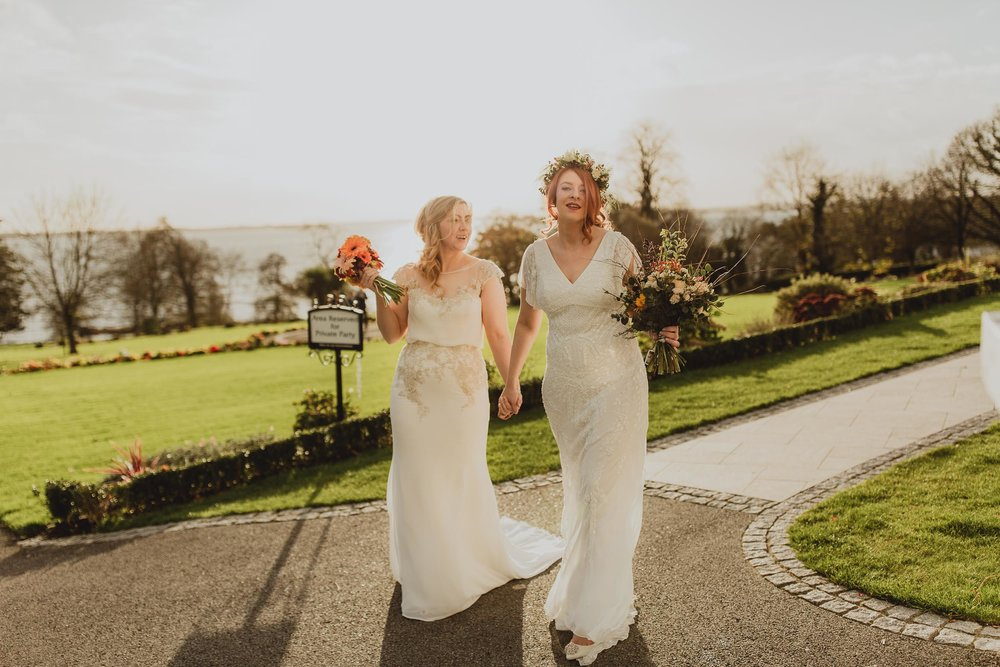 Copy of crover house hotel wedding of a lesbian couple